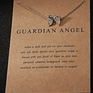 Guardian Angel Wing Necklace